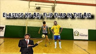 Dribles para se aprender - Neymar Elástico no Ar /Amazing Ronaldinho flip flap in the air, neymar, neymar Barcelona,  Barcelona, chung ket cup c1, Barcelona juventus