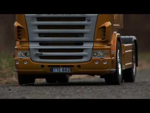 Грузовики 2 Tamiya SCANIA Trucks