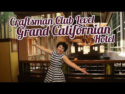 CRAFTSMAN CLUB LEVEL at Disneyland's Grand Californian Hotel