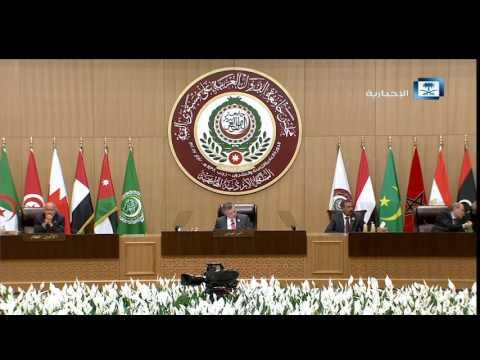 #فيديو ::  كلمة #خادم_الحرمين_الشريفين في #القمة_العربية