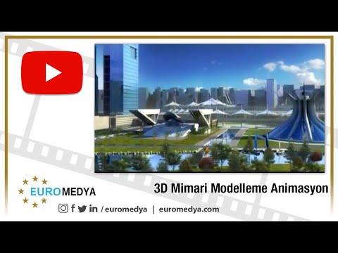 3d Mimari Modelleme Animasyonu