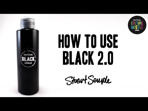 How to use BLACK 2.0 - painting cars, dying clothes, body painting and coverage.
