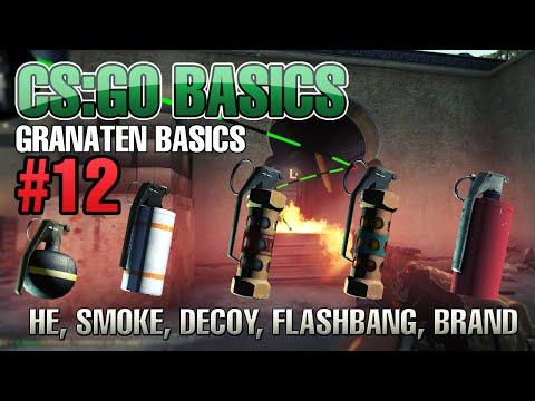 Basics - Basic Tipps zu den verschiedenen Granaten Günstige Spiele (CS:GO 8€)! http://bit.ly/14R5jHX ▻ Einfach das Beste: http://amzn.to/14mMqXh ▻ CS:GO BASICS PLAYLIST: http://bit.ly/1tuNBzV...