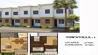 Tanza Philippines  city images : New Cavite Houses TOWNVILLA 1, Amaya Breeze Subdivision Tanza, Cavite, Philippine Property