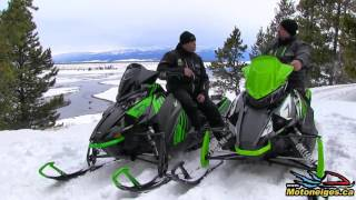 3. Arctic Cat ZR 8000 El Tigre et XF 8000 Cross Country 2018