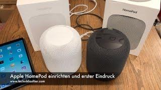 Apple HomePod einrichten und erster Eindruck