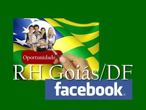 Vagas de Emprego em Goiás e Distrito Federal - Grupo Facebook