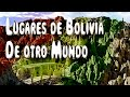 5 Lugares De Bolivia Que Parecen De Otro Planeta