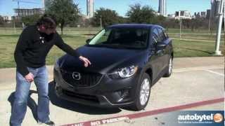 2014 Mazda CX-5 2.5 Liter SKYACTIV Test Drive&Compact Crossover Video Review