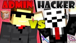 Hacker vs. Admin - Minecraft