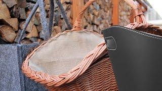 Die besten Holzkörbe für den Kamin
