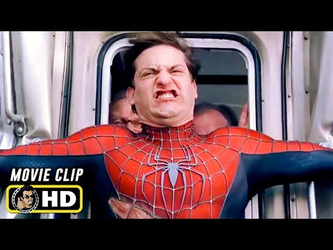 SPIDER-MAN 2 Clip - Train (2004) Tobey Maguire Marvel