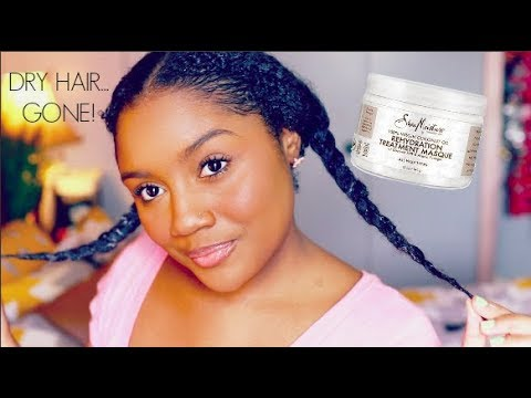 Omg! This Rescued My Dry Hair L Shea Moisture 100% Unrefined Coconut Oil Masque First Impression