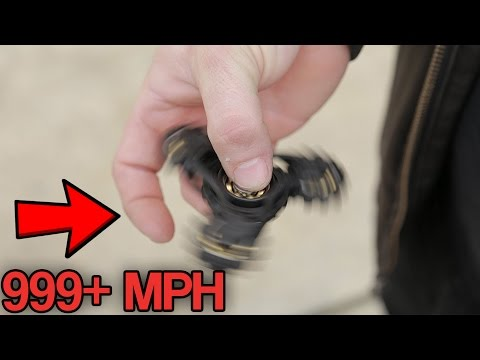 TOP 10 FASTEST FIDGET SPINNERS! (Fastest Fidget Spinner Toys You Won't Believe Exist)