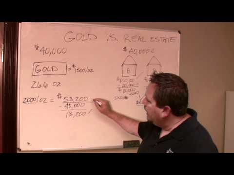 Why Real Estate Investing is Better than Gold &#8211; Workshop