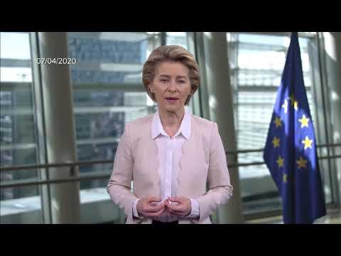 Ευρωπαϊκή απάντηση στην κρίση σε παγκόσμιο επίπεδο | Πρόεδρος ΕΕ κ. Ούρσουλα φον ντερ Λάιεν | 07/04