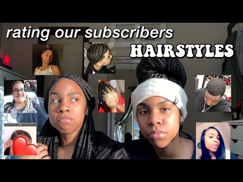 RATING OUR SUBSCRIBERS HAIRSTYLES (1-10)