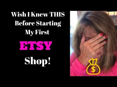💓WISH I Knew THIS Before Opening My Own ETSY SHOP!!!