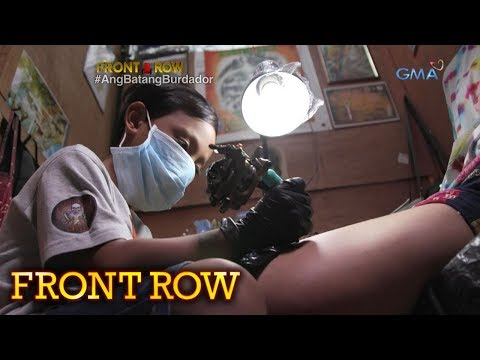 Video Front Row: 9-anyos na batang tattoo artist sa Tarlac, kilalanin download in MP3, 3GP, MP4, WEBM, AVI, FLV January 2017