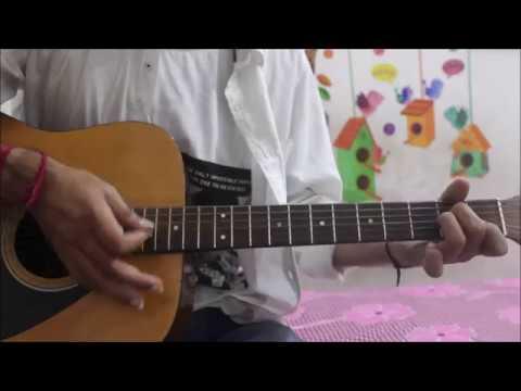 Dekhte Dekhte – Atif Aslam – Hindi Guitar Cover Lesson chords easy – Shahid , Shraddha