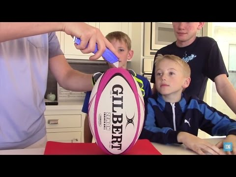 What's inside a Rugby Ball?