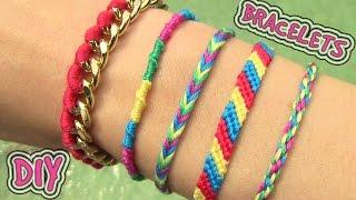 Download Lagu DIY Friendship Bracelets. 5 Easy DIY Bracelet Projects! Mp3