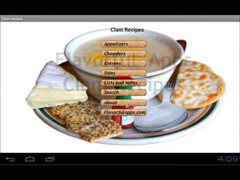 Video of Clam Bake and Chowder Recipes