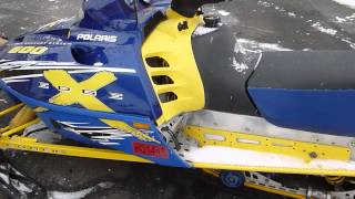 6. 2002 Blue Polaris XC SP 600 Edge X For Sale, Parting Out