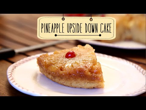 Pineapple Upside Down Cake | Delicious Dessert Cake Recipe | Beat Batter Bake With Priyanka