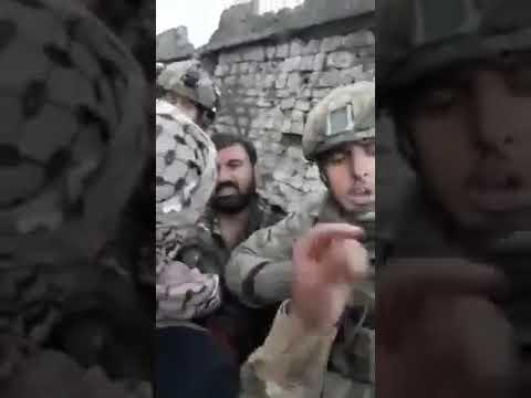 Сирия/Африн: Курды сдаются в плен Турецкой армии и ССА - DomaVideo.Ru