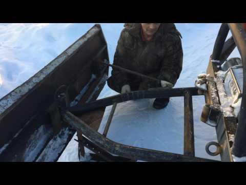 как сделать лопату для уаза