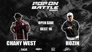 Chany West vs Hozin – POP ON BATTLE 2020 Open side Best 16