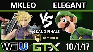 Video GTX 2017 Smash 4 - BSD | Elegant (Luigi) vs FOX MVG | MKLeo (Cloud) - Wii U G.Finals MP3, 3GP, MP4, WEBM, AVI, FLV Oktober 2017