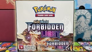 EARLY POKEMON FORBIDDEN LIGHT BOOSTER BOX OPENING!!! by The Pokémon Evolutionaries