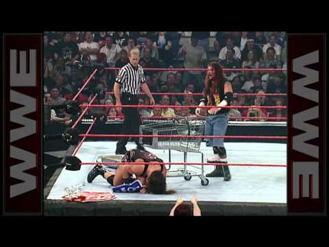 Raven vs. Rhyno: Hardcore Chapionship Match - Backlash 2001