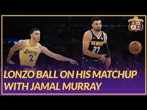 Video: Lakers Post Game: Lonzo Ball on Matchup with Jamal Murray, Playing in front of Kobe Bryant