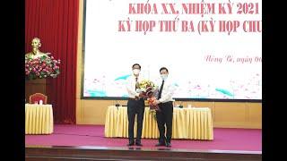 Kỳ họp thứ III HĐND thành phố Uông Bí khóa XX, nhiệm kỳ 2021-2026