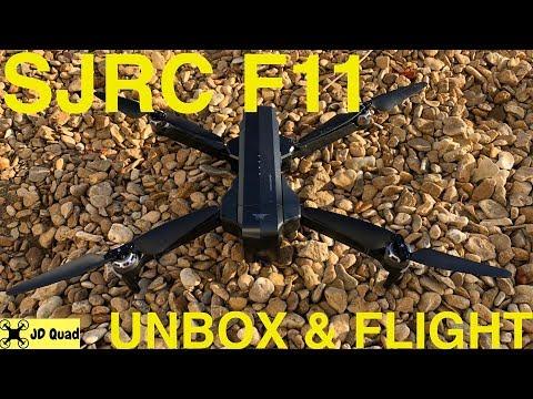SJRC F11 Unbox & Flight - Courtesy of Banggood
