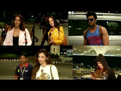 Daisy Shah , Manish Paul & Many Celebs Spotted At Airport