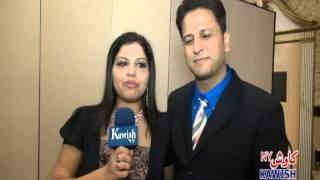 MR AND MRS.IMRAN SPEAKING FOR KAWISH NY TV.avi