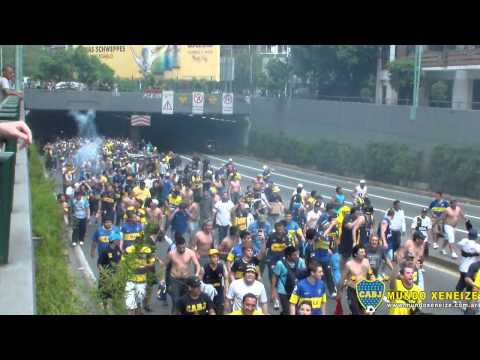 Video - Caminata al gallinero - La 12 - Boca Juniors - Argentina