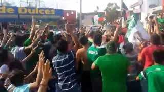 Monclova Mexico  City new picture : Monclova festeja triunfo de México contra Croacia