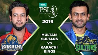 Match 24: Full Match Highlights Multan Sultans Vs Karachi Kings | HBL PSL 4 | HBL PSL 2019