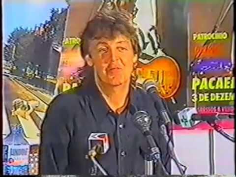 Primeiro show de Paul McCartney em São Paulo completa 20 anos