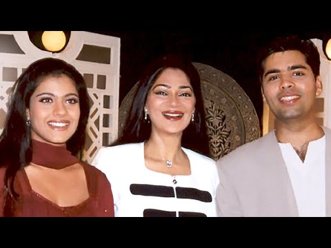 kajol - http://www.simigarewal.com KAJOL and KARAN JOHAR I asked Karan to bring his 'best friend' for our Rendezvous. He brought Kajol. They were a RIOT! I don't thi...