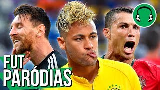 BRASIL EMPACOU, CR7 brilhou e Messi pipocou  Paródia Locked Out Of Heaven - Bruno Mars