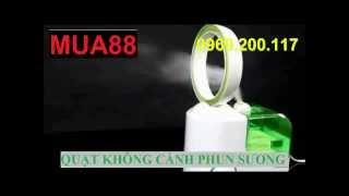 MUA88.COM - Quạt Không Cánh Phun Sương - Làm Mát&tạo ẩm