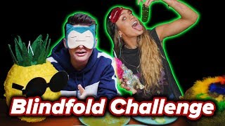 Sommer Ray and I try the Blindfolded Touch Challenge | Noah Schnapp