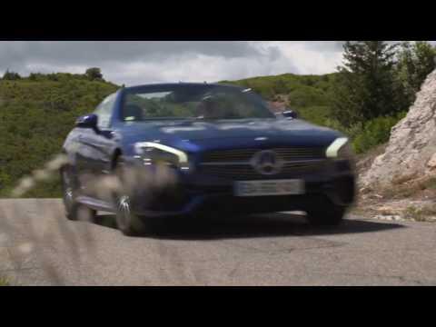 Mercedes 500 SL Radio-commandée TAIYO R/C, état neuf. Couleur rouge.