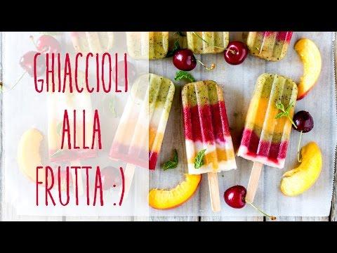 ghiaccioli alla frutta - ricetta vegan